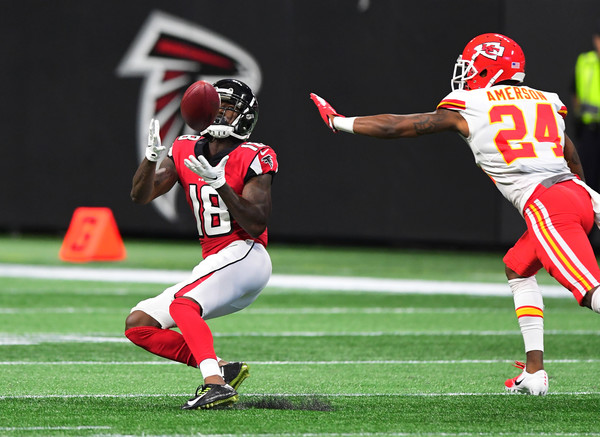 Calvin Ridley got his first touchdown out of the way